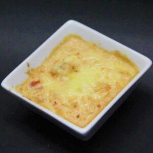 Txangurro gratinado con queso